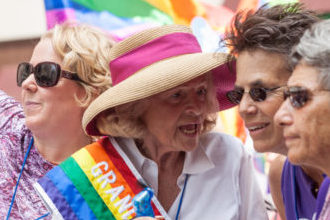 Gay rights advocate, Edith Windsor was a groundbreaking woman
