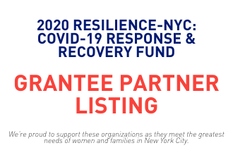 2020 Resilience NYC: COVID-19 Grantee Partner Listing