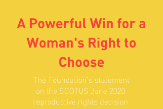 A Powerful Win for a Woman's Right to Choose
